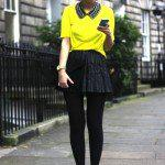 color-leather-pleated-skirt